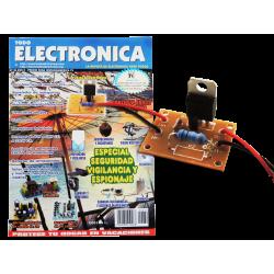 Kit electrónico para montar: fusible electronico + Revista Todoelectronica Nº39