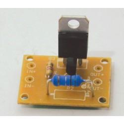 Kit electronico para montar, fusible electronico + revista todoelectronica Nº39