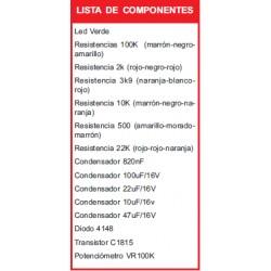 Kit electrónico para montar: ahuyentador de ratas y cucarachas + Revista Todoelectronica Nº44