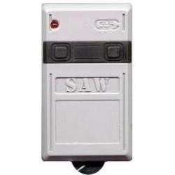 Mando de garaje original de 2 botones trinario 433 MHz CELINSA SAW102