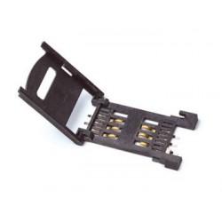 Porta tarjetas SIM formato libro para circuitos integrados