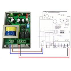 Sistema para sustituir receptor o mandos de garaje personalizado