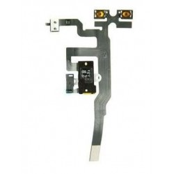 Cable Flex Audio iPhone 4S Negro