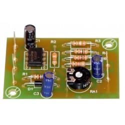 Preamplificación micrófono alta impedancia