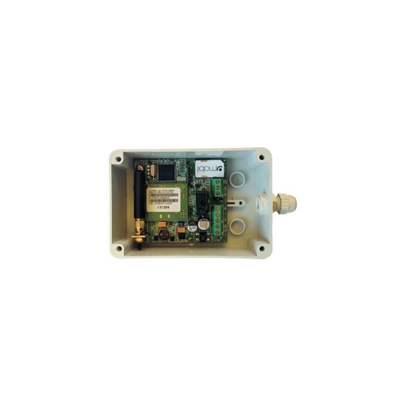 Caja plastica ABS perforada para control de accesos GSM TDG139