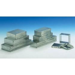 """Caja de protección """"Double"""" EMI/RFI con dimensiones de 83 x 68 x 27 mm"""