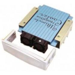 "Ventilador doble con disipador para disco duro de 3.5"" Temperatura -40%"