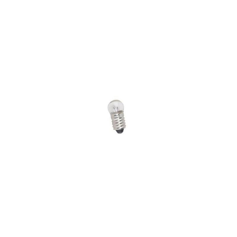 Bombilla de filamento rosca E10 3.5 V 0.2 A