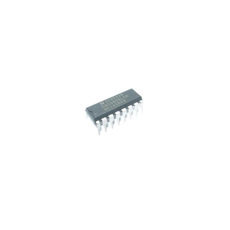 Convertidor D/A 8bit DAC0808LCN
