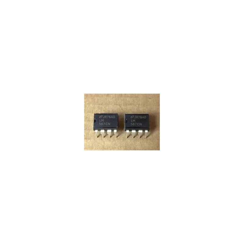 Decodificador de tonos LM567CN
