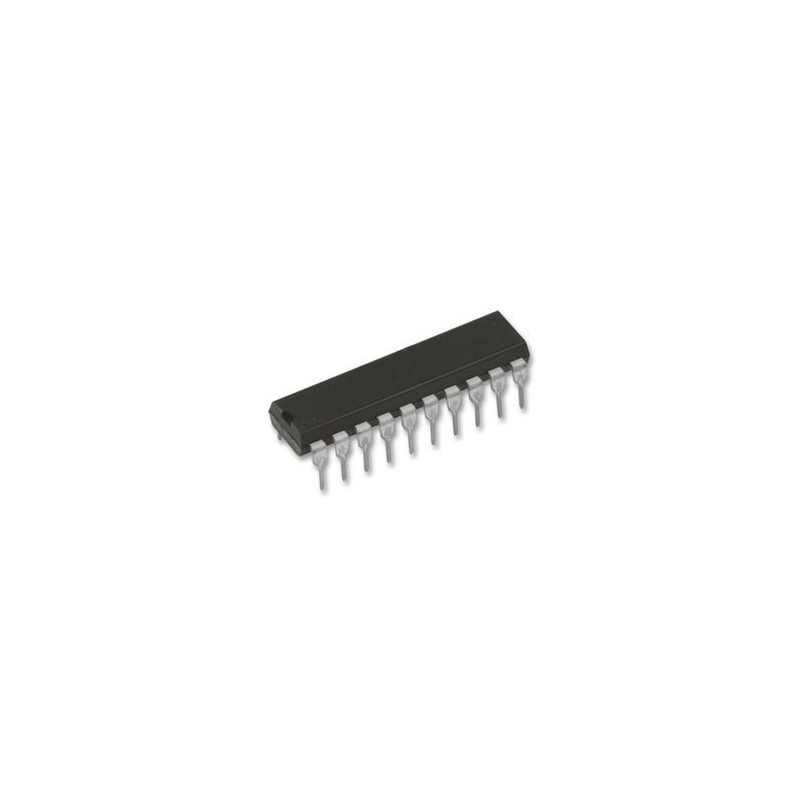 Circuito integrado 74HC374N - IC, 74HC CMOS, DIP20, 5V