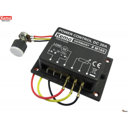 Regulador de potencia 9 - 28 V/DC máx. 20 A (PWM)