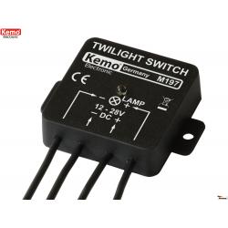 Interruptor crepuscular 12 - 28 V/DC