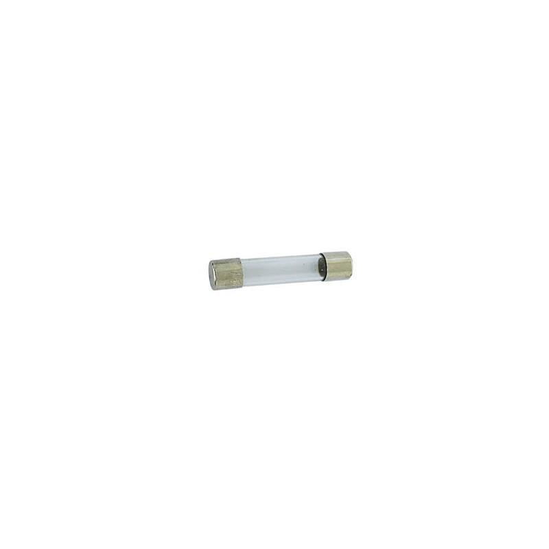 Fusible temporizado 6.35 x 32mm 6.3a (10 uds./caja)