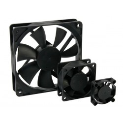 VENTILADOR 12VDC COJINETE LISO 92 x 92 x 25mm