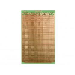 Placa eurocard 2 agujeros - 100x160mm - fr4  (1 unidad/blister)