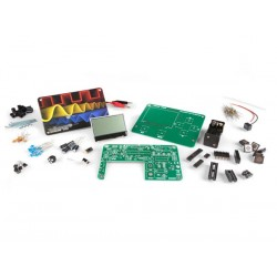 Kit educativo con osciloscopio - pantalla lcd