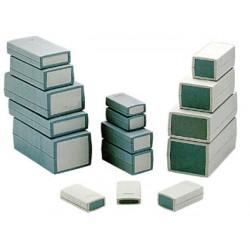 """Caja """"proyecto"""" de plÁstico moldeado - gris oscuro 120 x 60 x 40mm"""