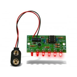 Mini chaser con 6 leds