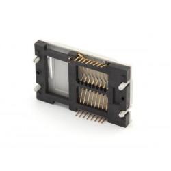 Conector tarjeta inteligente - 16 contactos con contactos dorados