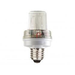 Mini lámpara estroboscópica de color blanco, con 3.5W y casquillo E27