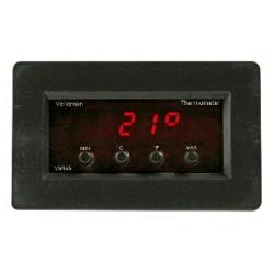 TermÓmetro digital de panel con visualizaciÓn de la temperatura mÍn./mÁx.
