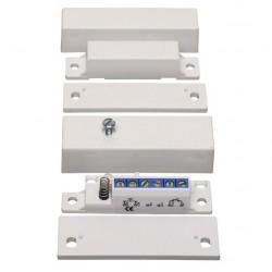 Contacto magnético de superficie para alarmas cableadas (EN-50131 grado 3)