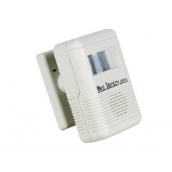 Timbre portatil-alarma avisadora con detector PIR