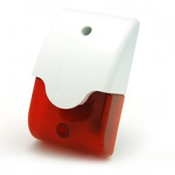 Sirena inalambrica interior para alarma inalambrica sin cuotas G6 433Mhz OUOFSI