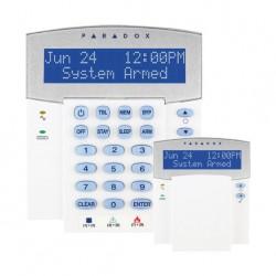 Teclado K32LCD Paradox LCD de 32 caracteres, 1 entrada de zona Grado 2