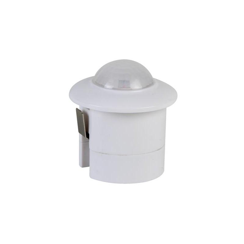 Detector PIR de movimiento con salida relé para empotrar y de 28 mm