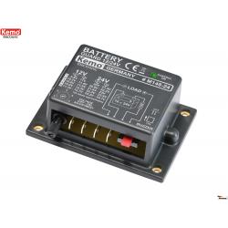 Controlador de baterías para 12 o 24 V/DC