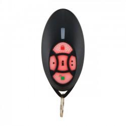 Mando remoto alarma paradox vía radio de 5 canales BIDIRECCIONAL, resistente al agua. 868Mhz para al