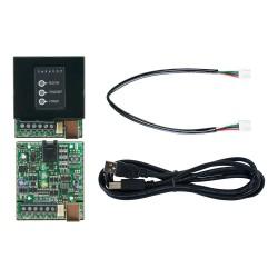 Convertidor RS-485/RS-232 para conexión de 300 metros de central a PC