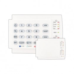 Teclado de leds para alarmas cableadas Paradox K10H de 10 zonas