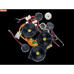 Surtido piezas speakers y microfonos 20 piezas