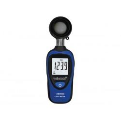 Luxómetro digital DEM300 con rango de medición 0 lux ~ 200000 lux