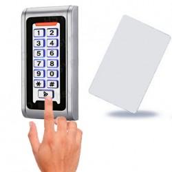 Control de accesos antivandálico por teclado y tarjeta de proximidad IP68 2000 us