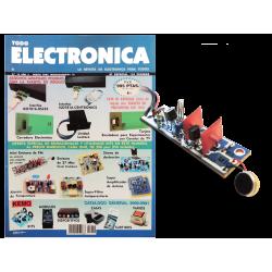 Kit electrónico para montar: mini emisora fm con micrófono + Instrucciones Nº19
