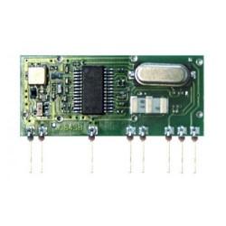 Módulo receptor 434,15 MHz superheterodino FM