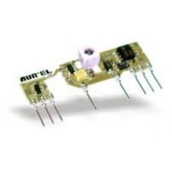 Receptor RF optimizado para su uso con la familia HCSxxx Microchip