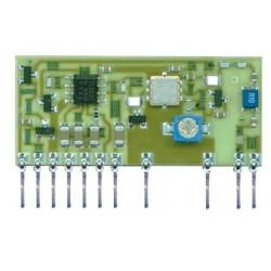 Transmisor de audio FM a 433,8 MHz