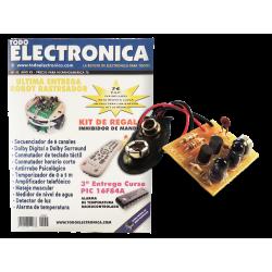 Kit electrónico para montar: Anulador de mandos + Revista Todoelectronica Nº45