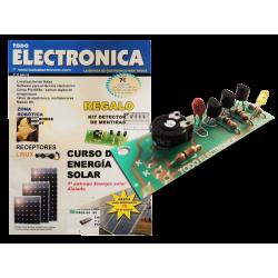 Kit electrónico para montar: Detector de mentiras + Revista Todoelectronica Nº47