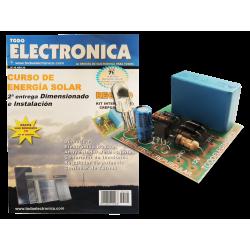 Kit electrónico para montar: Interruptor crepuscular + Revista Todoelectronica Nº48