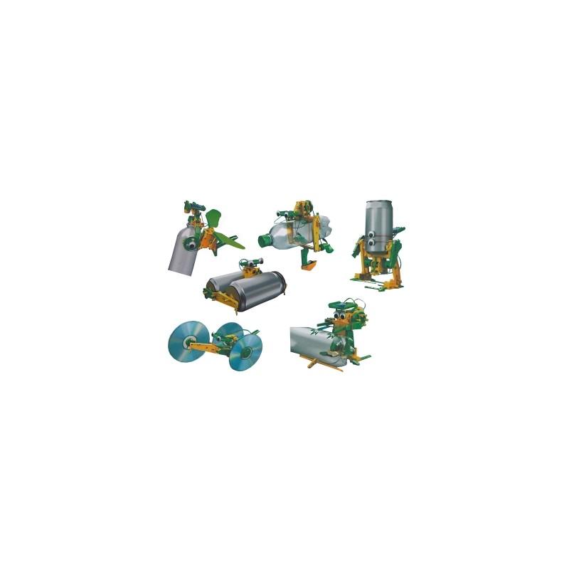 Kit para montar el robot solar 'Reciclator' 6 en 1 (desde 8 años)