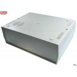 Caja con rejilla para altavoz 260 x 195 x 90 mm