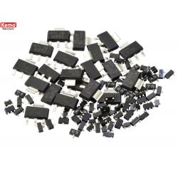 Transistores SMD Aprox. 100 piezas