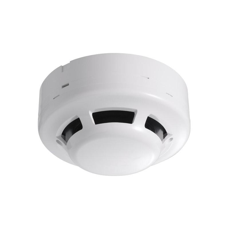 Detector de humo cableado fotoeléctrico para alarma