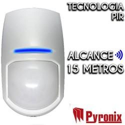 Detector PIR cableado PYRONIX de Interior Grado 2 KX15DD
